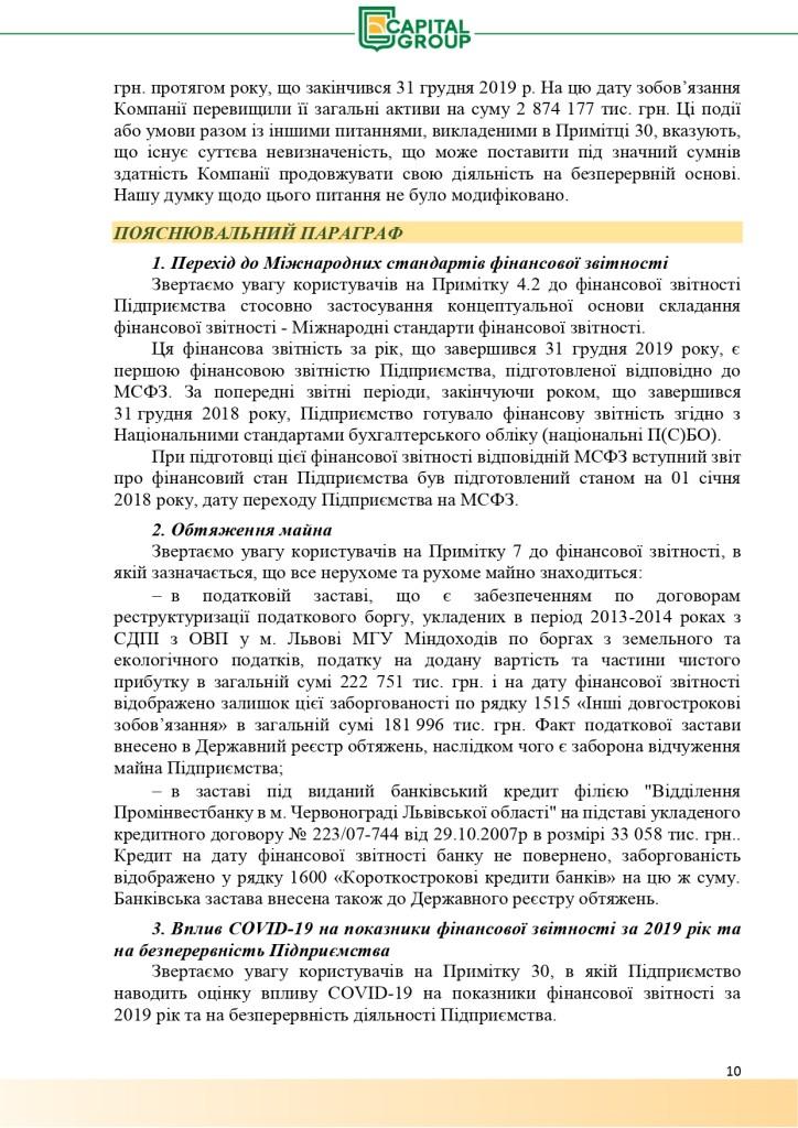 Аудиторський звіт за 2019_page-0010